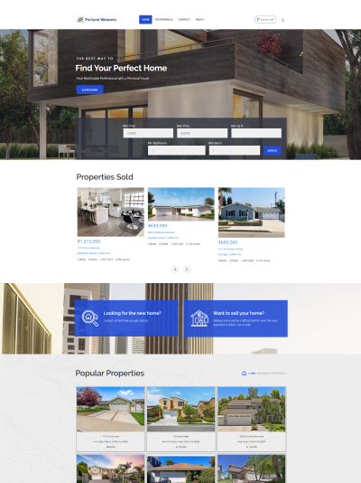 Realty Website